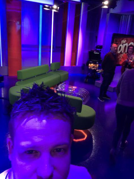 Appearance on the One Show